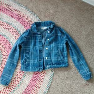 PACSUN PLAID JEAN JACKET!!!